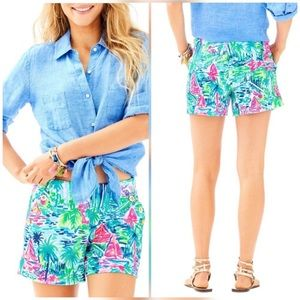 Lilly Pulitzer | Salt in the Air Marina Knit Short